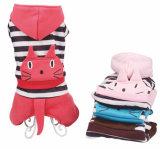 Vêtements de crabot d'animal familier de salopettes de configuration de tête de mode