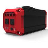 Неровный компактный генератор с панелью солнечных батарей для ся укладывая рюкзак перемещать