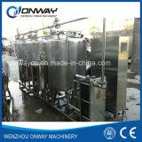設定されている産業ステンレス鋼のクリーニングタンクをきれいにするためのステンレス鋼CIPのクリーニングシステムアルカリ清浄機械