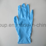 健康および美容院のための黒くか紫色または赤い/Pinkの使い捨て可能なニトリルの手袋