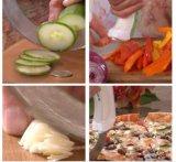 대형 나이프 회전 Chef'n 샐러드는 칼을 깎는다