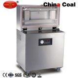 Dz400-2D Una sola cámara de acero inoxidable Sellador de alimentos de vacío