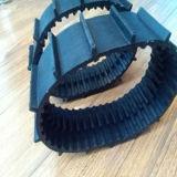 Piste en caoutchouc de mini robot avec les pignons (60*12.7*66)