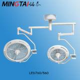 Luz LED de funcionamiento760/560 LED, Lámpara quirúrgica con Ce y ISO