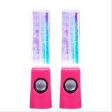 De creatieve Kleurrijke Spreker USB van de Dans van het Water Minni Kubusvormige voor PC, Telefoon