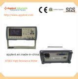 100k 옴 10t 옴 저항 측정 범위 (AT683)를 가진 디지털 Megger