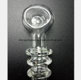 4.33 Zoll transparente Glaswasser-Rohr-von stellen Öl wieder her
