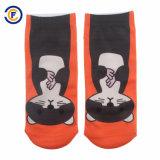 Kundenspezifische Drucken-Polyester Elastane Socken