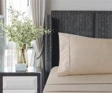 Plaine solide Home Textile tissu microfibre drap de lit défini