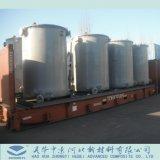 El FRP, GRP, contenedor de almacenamiento vertical de fibra de vidrio