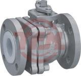 Выровнянный PFA ANSI электрического силового привода шарикового клапана Ss