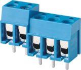 bloco terminal de parafuso do PWB do passo de 5.0mm (WJ305)
