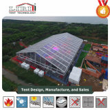 30X50m для использования вне помещений водонепроницаемый прозрачных палатки на 1500 человек потенциала Группы