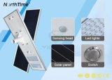 120W tutto compreso/ha integrato l'indicatore luminoso di via infrarosso solare del sensore di movimento LED