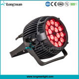 Mini LED indicatore luminoso del punto di 18*10W RGBW Sharpy della fase di PARITÀ impermeabile