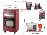 Elettrico più il riscaldatore infrarosso di ceramica del gas