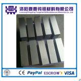 W1 W2 5mm Dikte Opgepoetste Platen van het Molybdeen van de Oppervlakte van de Grond/Blad voor het Kristal G van de Saffier