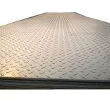 Ms de carbono de acero laminado en caliente de la placa de cuadros de diamantes