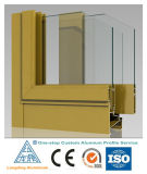 Profil en aluminium d'extrusion pour Windows en aluminium et des portes