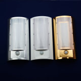 Control del sensor de infrarrojos de pared de luz LED de iluminación LED para interiores Hotel Light
