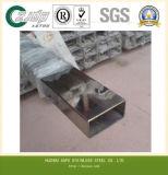 Súper 304 dúplex de acero inoxidable de tubos con costura