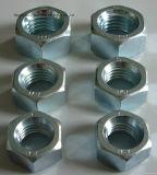 Boulons Hex d'acier inoxydable/acier du carbone et écrou et boulon Hex galvanisés à chaud galvanisés Nuts (DIN933 ET DIN934)