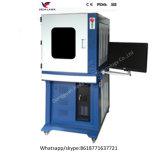 La máquina de la marca del laser de la fibra del metal con protege el caso