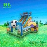 Speelplaats van de Uitsmijter van het Gebied van het Voetbal van de Jongen van de kleur de Gelukkige Opblaasbare