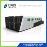 гравировальный станок вырезывания лазера волокна металла предохранения от CNC 1000W полный с крышкой 6020