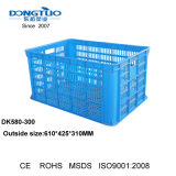 Caixa de frutos de plástico, caixa de recipientes plásticos de volume de negócios