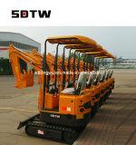 0.8t 1ton 0.025m3 Wannen-Exkavator für Verkauf/MiniEscavator