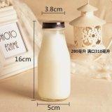 bottiglia di vetro del latte 250/330/400/500/1000ml per la bevanda
