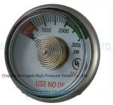 Medidor de pressão de oxigênio médica
