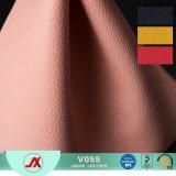 Cuoio antifungoso del PVC del reticolo di Lichee di alta qualità, tessuto di cuoio del Togo per il tessuto duro del sofà del cuoio della base del pacchetto del sacchetto molle