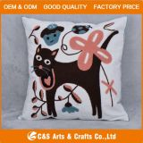 Embroidery su ordinazione Fabric Animal Cushion per Home Textile