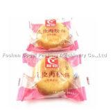 Tipo automático inglés empaquetadora del bolso de la almohadilla de Muffi de los pasteles de soplo