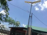 1つの60ワットの太陽電池Lampuの統合された、すべて