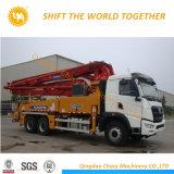 33m pequeño camión bomba de hormigón, hormigón camión bomba pluma a la venta en China
