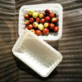 Exibindo e use a bandeja de comida de plástico PP com/sem almofada de absorção