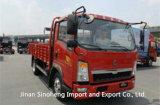 Sinotruk HOWO 115CV 4t camión de carga de la luz de camión Camión 4X2