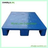 Eintrag 4-Way mehrfachverwendbares HDPE Ineinander greifen-logistische Plattform-Ladeplatte