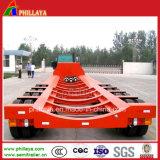 4 Cama Baixa semi reboque de eixos para o transporte do corpo do Tanque