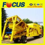 Le matériel de construction Yhzs75 Le transport de béton mobiles Usine de traitement par lots