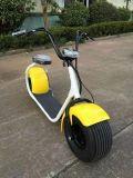 Vespa eléctrica de Citycoco del Ce y del motor sin cepillo de RoHS 1000W con la rueda grande