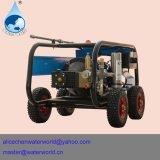 De Pomp van de Wasmachine van de hoge druk met het Kanon van het Water voor de Was van de Industrie