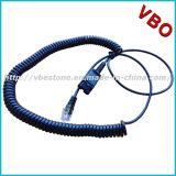 Venta caliente Call Center de telecomunicaciones auricular monoaural Rj 9