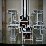 Fenêtre Plastin avec battant UPVC avec bande décorative