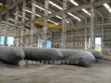 Bolsas a ar de lançamento do navio pesado usadas para a aterragem /Launching do navio