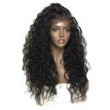 150% плотность Kinky высшего качества вьющихся волос человека Бразилии 100% кружево Wig передней панели