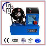 Certificado P32 de Ce&ISO una máquina que prensa manual de la máquina del manguito que prensa hidráulico 220V